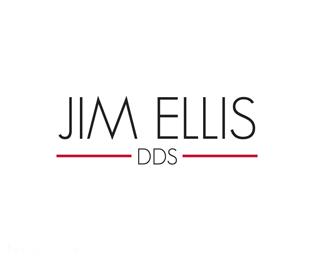 个人标志牙医吉姆·埃利斯