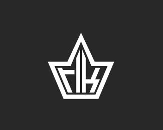 个人品牌标志皇冠RLK