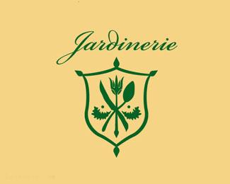 素食餐厅标志Jardinerie
