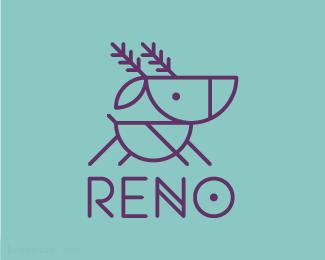 玩具标志RENO