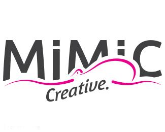 自由设计师个人标志mimic