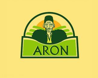 奶酪品牌标志ARON