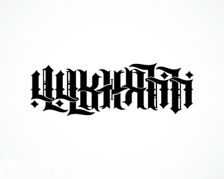 哥特字体设计欣赏