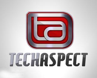 金属感图标Techaspect