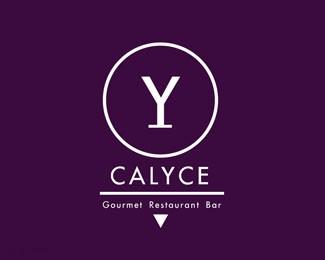 国外餐厅标志Calyce