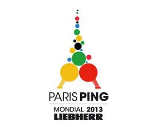 2013年世界乒乓球锦标赛标志