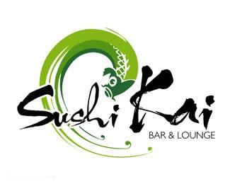 日本寿司店标志sushikai