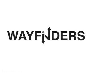 患者咨询医疗保健论坛标志Wayfinders