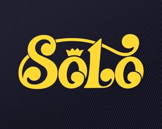 天津艺术字体标志Solo