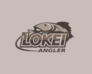 天津钓鱼俱乐部标志Lokei