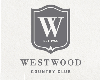 奥斯汀西部 韦斯特伍德乡村俱乐部标志