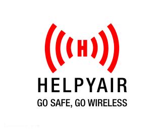 电梯上的无线报警器Helpyair