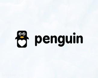 小企鹅的乐趣 企鹅标志