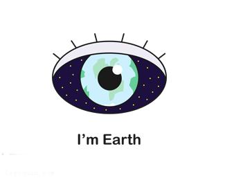 地球眼睛标志