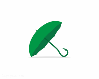 林芝鱼钩雨伞