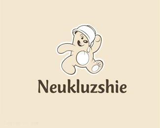 可爱的小熊标志neukluzshie