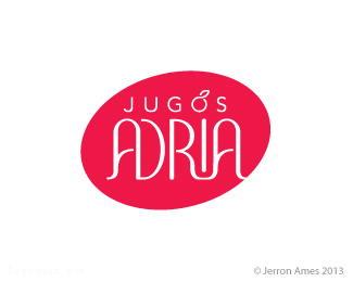 果汁品牌标志亚德里亚