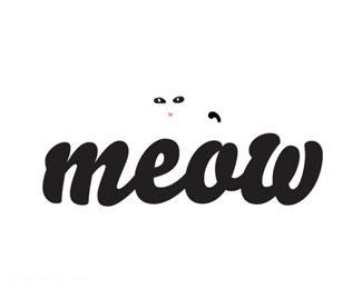 MEOW字体标志
