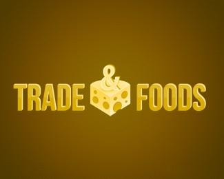 国外贸易公司奶酪标志