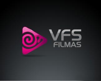户外纪录片和创作电视电影制作公司VFS filmas标志