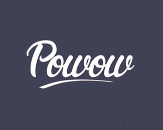 刻字软件字体Powow设计