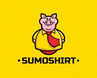 泰安服饰公司Sumoshirt猪标志