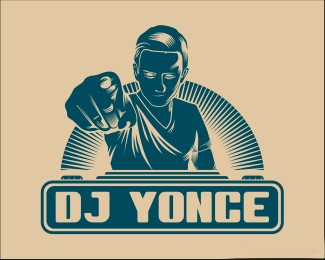 DJ Yonce标志logo