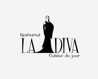 汕头餐厅La Diva标志
