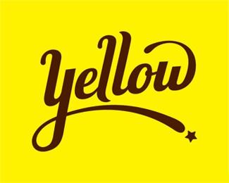 Yellow字体