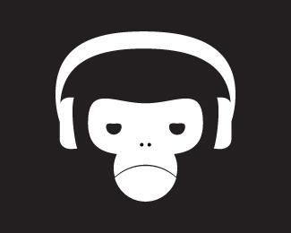 听音乐的猴子头像
