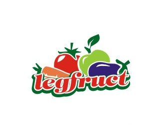 口蔬菜和水果legfruct