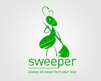 扫地蚂蚁清洁工