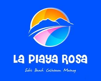 粉红之岛标志