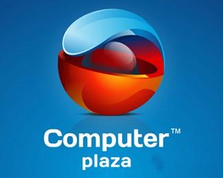 国外电脑公司电脑广场标志